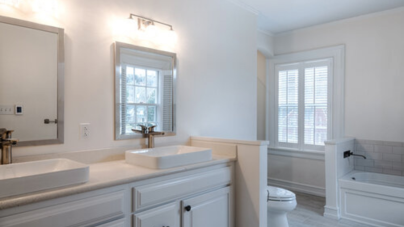 Master bath interior photo