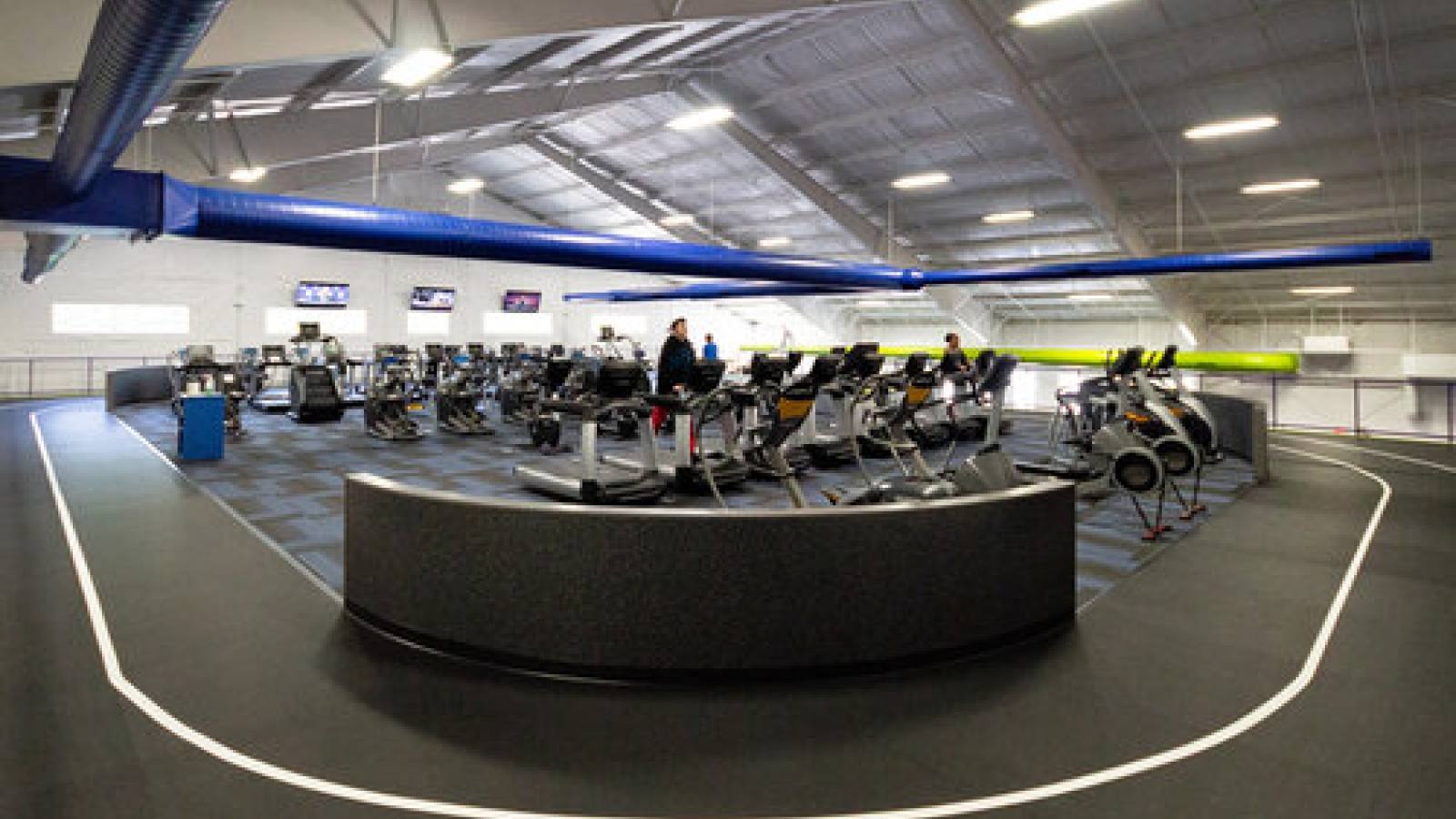 fitness center interior photo