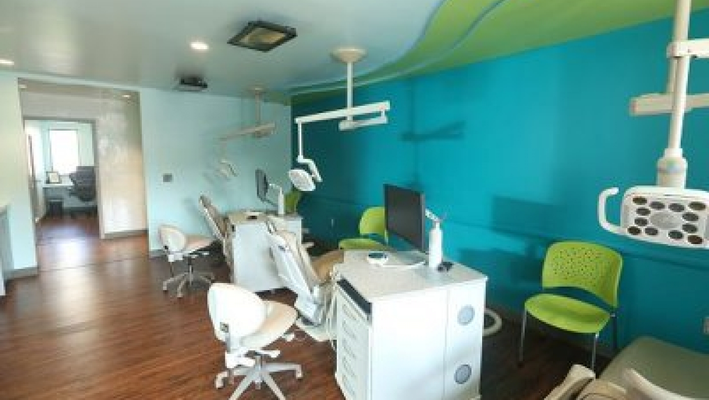 Dentistry office and examination room